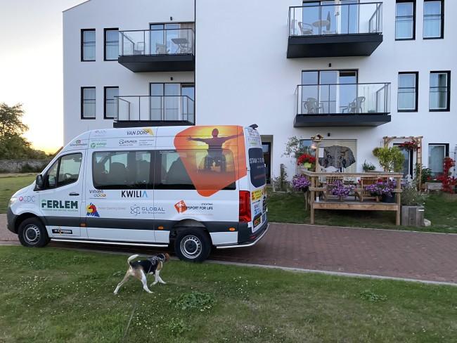 Topsport for Life - op bezoek bij Eveline in Zottegem