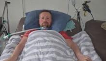 ALS-patiënt Ronnie Möller geeft nooit op. (Foto: Rick Praamstra)